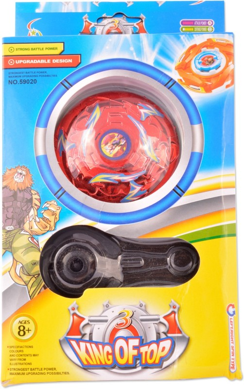 ishika KING TOP 3 BEYBLADE(Multicolor)