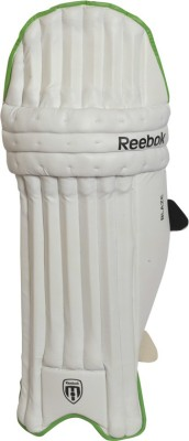 Reebok Blaze Men Batting Pad(White & Line Green, Right Handed)