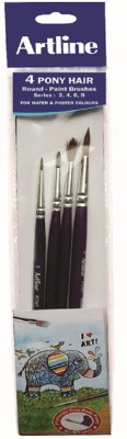 Artline Sachihata Round Paint Brushes