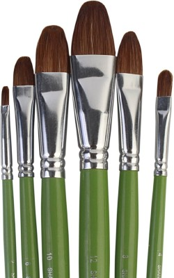 Pigloo Filbert Paint Brushes