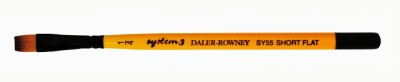 Daler-Rowney System 3 Flat Paint Brushes