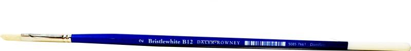 Daler-Rowney Bristlewhite Filbert Paint Brush