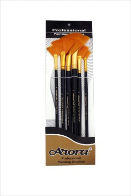 Arora Fan Paint Brushes