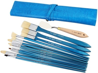 Bianyo Flat, Filbert, Bright, Fan, Round Paint Brushes