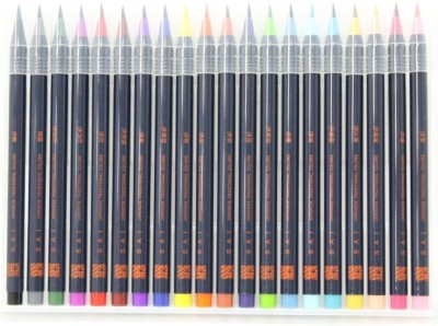 Akashiya Sai XCA200-20V Round Paint Brushes