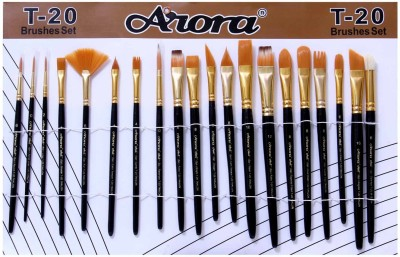 ARORA Mix Paint Brushes(Set of 1, PURPLE)