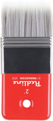 Princeton Redline Paddle Paint Brushes(Set of 1, Red)