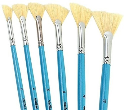 Pigloo Fan Paint Brushes