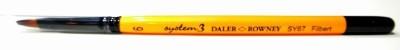 Daler-Rowney System 3 Filbert Paint Brushes