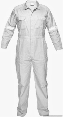 Legasea Ocean King White Boiler suits with Reflective Tapes Paint Coverall