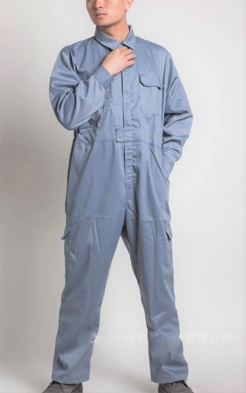 Legasea Ocean King Grey Boiler suits Paint Coverall(XL)