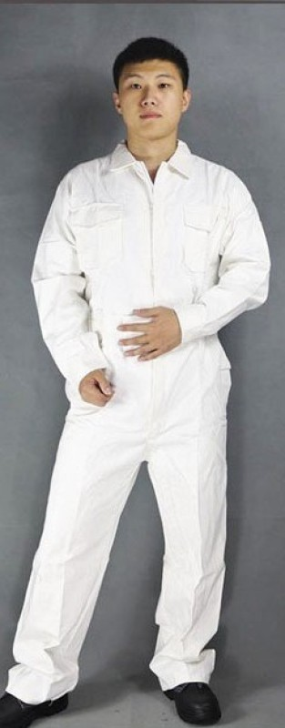 Legasea Ocean King White Boiler suits Paint Coverall(XL)