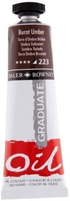 Daler-Rowney Graduate Oil Paint(Burnt Umber)