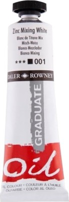 Daler-Rowney Graduate Oil Paint(Zinc Mix White)