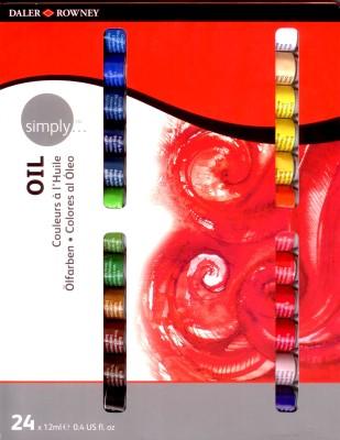 Daler-Rowney Simply Oil Color Oil Paint Tube