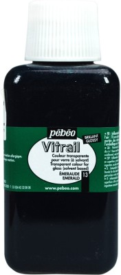 Pebeo Vitrail Satin Glass Color(Emerald)