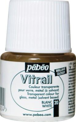 Pebeo Vitrail Satin Glass Color(White)