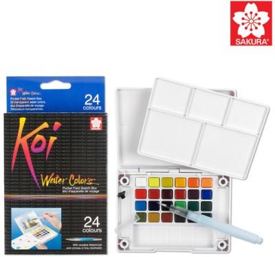 Sakura Koi Pocket Field Sketch Box Water Color Cake Palette