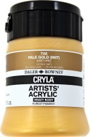 Daler-Rowney Cryla Acrylic Color Bottle(Pale Gold)
