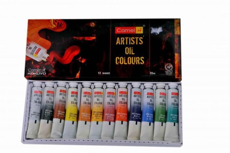 Camlin Oil Colors Tube(Set of 1, Transparent Vermilion)