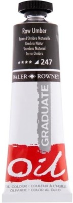 Daler-Rowney Graduate Oil Paint(Raw Umber)