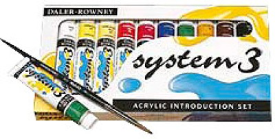 Daler-Rowney System 3 Acrylic Color