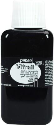 Pebeo Vitrail Satin Glass Color(Black)