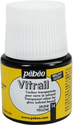 Pebeo Vitrail Satin Glass Color(Yellow)