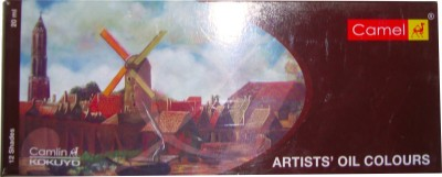 Camlin Artist Oil Paint Tube