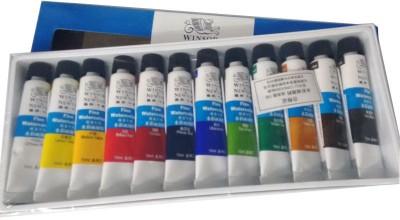 Winsor & Newton Fine Water Color Tube(Set of 12, Multicolour)