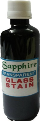 SAPPHIRE GLASS STAIN Hobbyists Bottle