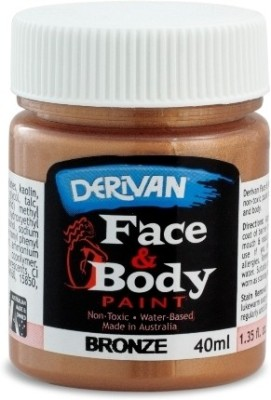 Derivan Face Paint Water Color Bottle