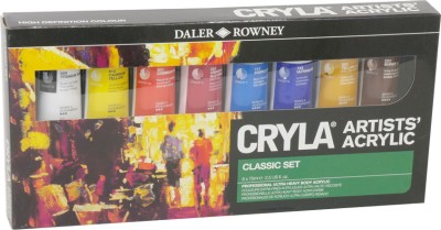 Daler-Rowney Cryla Acrylic Color Paints Set