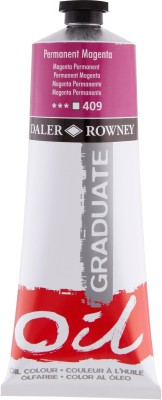 Daler-Rowney Graduate Oil Paint Tube(Permanent Magenta)