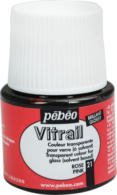 Pebeo Vitrail Satin Glass Color(Pink)