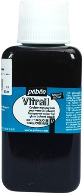 Pebeo Vitrail Satin Glass Color(Turquoise)