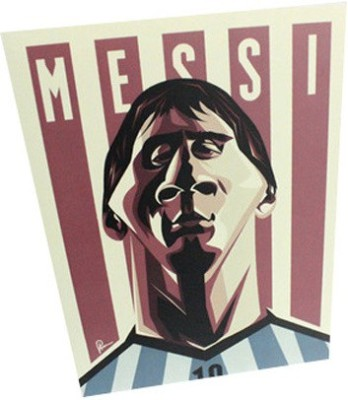 Graphicurry Messi Digital Reprint Painting