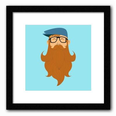Dreambolic A Beards Tale Poster Digital Reprint Painting