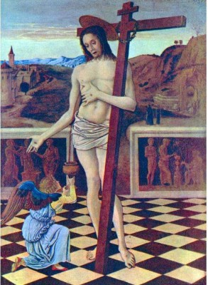 Snapgalaxy Art Panel - The blood of the Redeemer by Bellini Canvas Painting