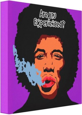 Exciting Lives Jimi Hindrex Framed Canvas Canvas Painting
