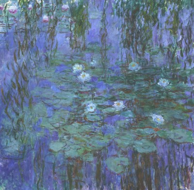 Ocher Art 30x30 Inches, Claude Monet   Water Lilies Canvas Painting 30 inch x 30 inch  available at Flipkart for Rs.8200