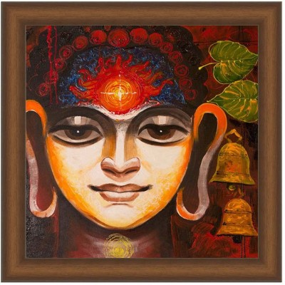 Painting Mantra Buddha Enlightment Canvas Painting
