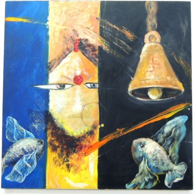 SHRI MANS CREATIONS Oil Painting