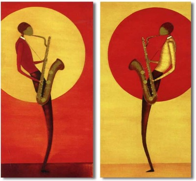 Painting Mantra Musical Art Print Set Canvas Painting
