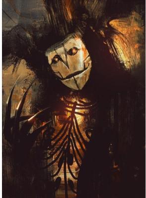 ArtzFolio Dark Fantasy Character Unframed Art Print Canvas Painting