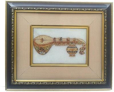 Gaura Art & Crafts Enamel Painting