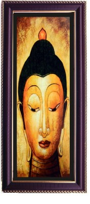 Shree Sai Lord Buddha Wall Painting Handicraft For Room Canvas Painting