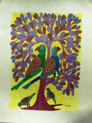 Shibiaana GP 005 Acrylic Painting