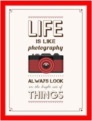 Oobinno Life is like a Photography Digital Reprint Painting