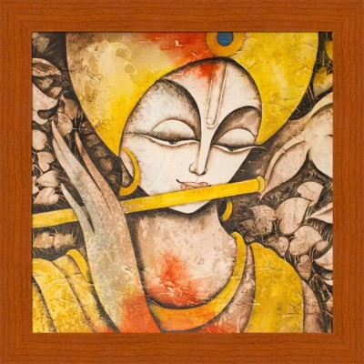 Painting Mantra Calm Krishna Canvas Painting